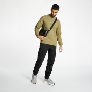C.P. Company Diagonal Raised Fleece Crewneck Olive