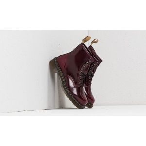 Dr. Martens 1460 Cambridge Brush Cherry Red