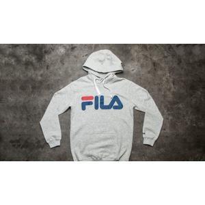 FILA Classic Logo Hoody Light Grey Melange
