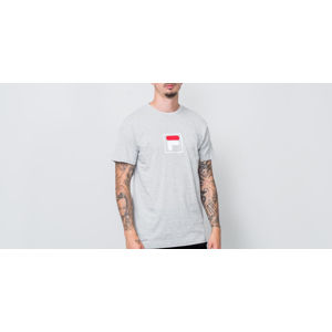 FILA Evan Shortsleeve Tee Light Grey Melange Bros