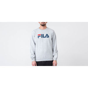 FILA Pure Crew Sweat Light Grey Melange Bros