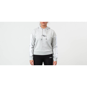 FILA Riva Long Sleeve Hoodie Light Grey/ Melange Bros