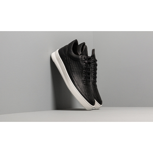 Filling Pieces Low Top Ripple Mono Black