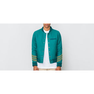 Hadrian Holtz Letterman Jacket Green