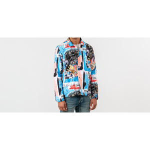 Herschel Supply Co. x Jean-Michel Basquiat Voyage Coach Jacket Multicolor
