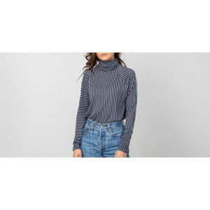 HOPE Smart Longsleeve Tee Dark Blue Stripes