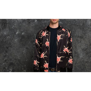 HUF Apparel Jacket Rakuen Souvenir Black