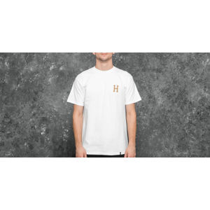 HUF Apparel T-Shirt PLP S/S Gold Print Tee White