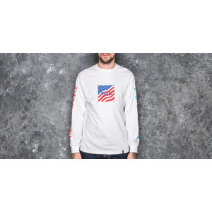HUF Domestic Fuck It Longsleeve Tee White