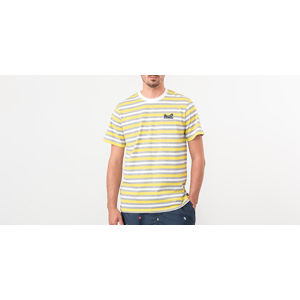 HUF Rockaway Knit Top Tee Aurora Yellow