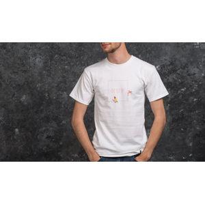 HUF x Pink Panther Shortsleeve Box Logo Tee White