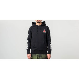 HUF x Spitfire Triangle Pullover Hoodie Black