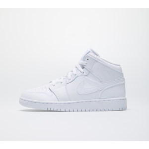 Jordan Air 1 Mid (GS) White/ White-White