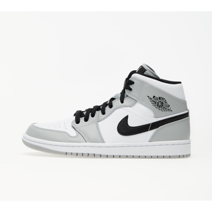 Jordan Air 1 Mid Lt Smoke Grey/ Black-White