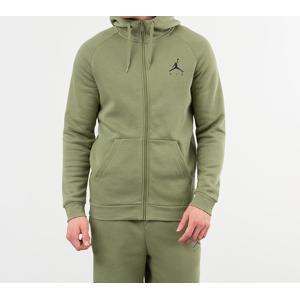 Jordan Jumpman Fleece Fullzip Hoodie Thermal Green/ Black