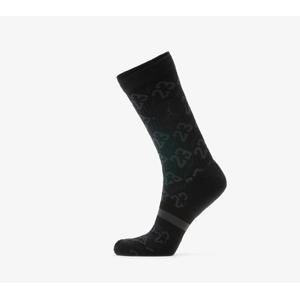 Jordan Legacy 2 Pair AOP Crew Socks Black/ Anthracite