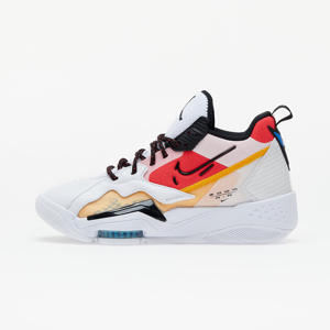 Jordan Wmns Zoom '92 White/ Black-Siren Red-University Gold