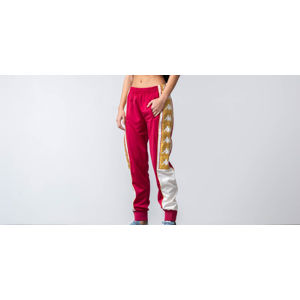 Kappa 222 Banda 10 Arsis Trousers Red Cerise/ White/ Gold