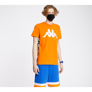 Kappa Authentic La Barwa Tee Orange/ White/ Black