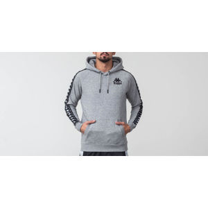 Kappa Authentic Porta Hoodie Grey/ Black