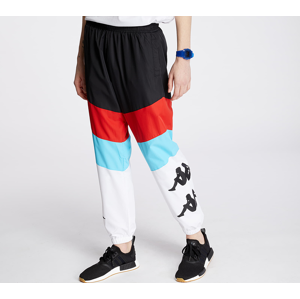 Kappa Authentic Race Clovy Pants Black/ Red/ Turq/ White