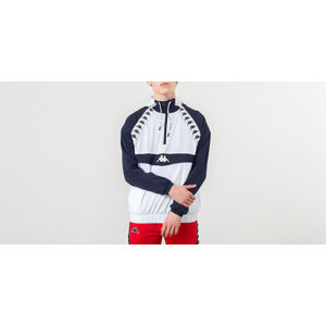 Kappa Jumper Bakit Windbreaker Blue Marine/ White