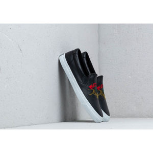 Kenzo K-Skate Sneakers Jumping Tiger Slip On Black/ White