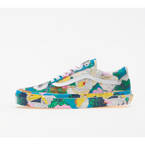 KENZO x Vans OG Old Skool LX Floral Yellow/ True White
