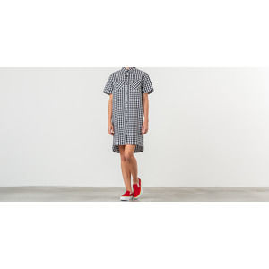 Lazy Oaf Gingham Heart Shirt Dress Black/ White