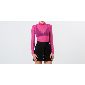 Lazy OAF Sheer Turtleneck Pink