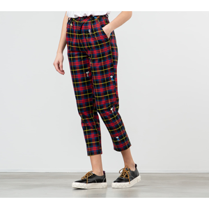 Lazy Oaf x Peanuts Character Repeat Check Pants Red