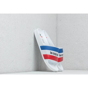 Le Coq Sportif Slide Tricolore Optical White/ Black