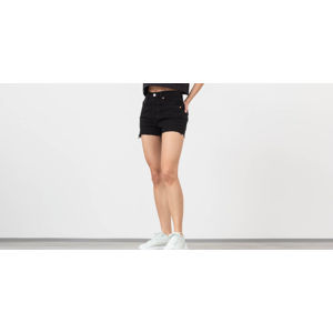 Levi's® 501 High Rise Shorts Black