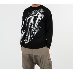 LIFE IS PORNO xxx Footshop Sweater Black