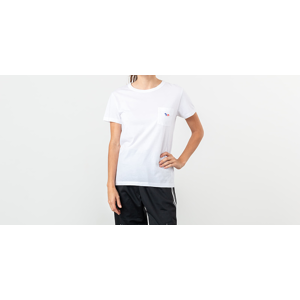 MAISON KITSUNÉ Fox Patch Tee White