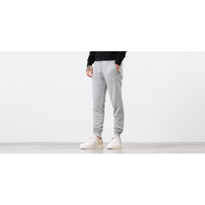 MAISON KITSUNÉ Tricolor Fox Head Patch Sweat Pants Grey Melange