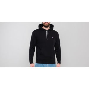 MAISON KITSUNÉ Tricolor Fox Patch Hoodie Black