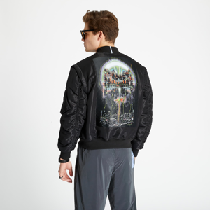 McQ 3 In 1 Tech Nylon Bomber Jacket Black