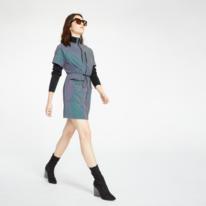 McQ Track Dress Multicolor