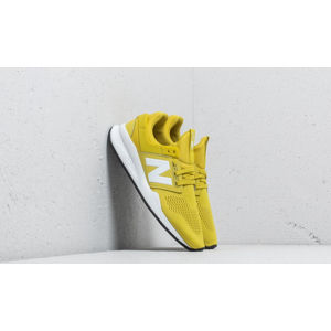 New Balance 247 Lime/ White