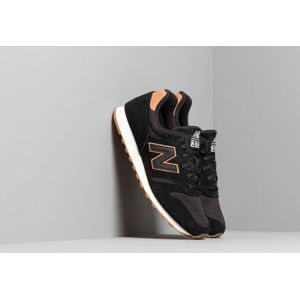 New Balance 373 Black/ White/ Brown