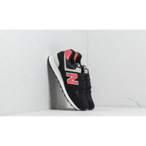New Balance 574 Black/ Red