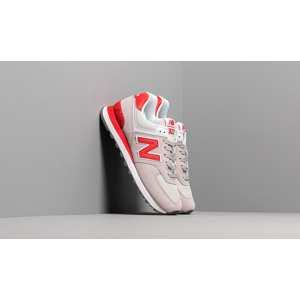 New Balance 574 Grey/ Red