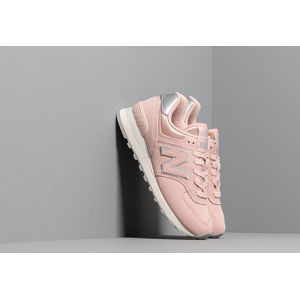New Balance 574 Light Cashmere/ Metallic Silver