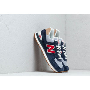 New Balance 574 Navy/ Red/ White