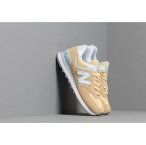 New Balance 574 Yellow/ White