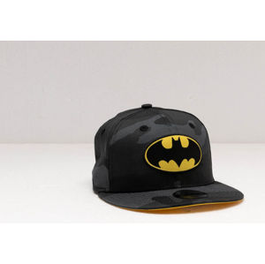 New Era 9Fifty Child Batman Snapback Grey Camo/ Yellow