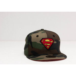 New Era 9Fifty Youth Character Superman Snapback Camo/ Red