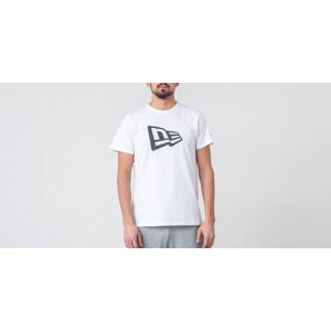 New Era De Flag Infill Optic Tee White