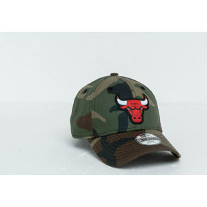 New Era Kids 9Forty NBA Character Chicago Bulls Cap Washed Camo